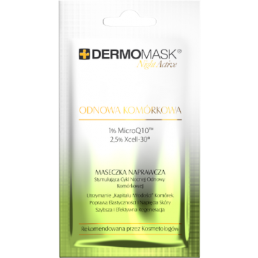 Dermomask Night Active Odnowa Komórkowa - 12 ml